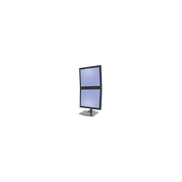 Pied Ergotron bi-écrans superposés DS100