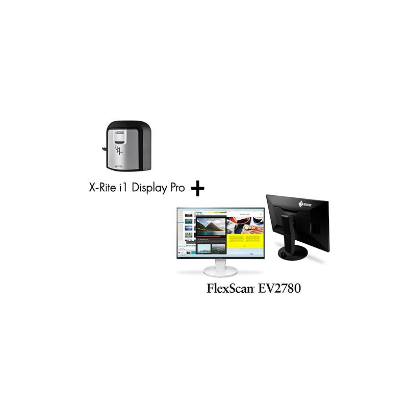 PACK - Ecran EIZO EV2780 avec une sonde Eye One Display Pro